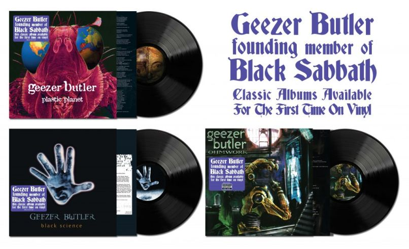 GeezerButler 3xLPs stickered3 1024x626 1 Geezer Butlers Three Solo Albums to Get First Ever Vinyl Release