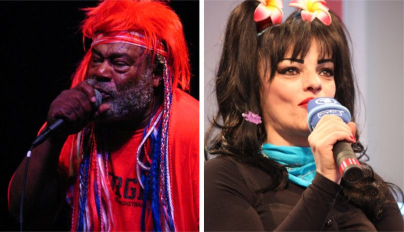 George Clinton (photo by Raj Gupta) and Nina Hagen (photo by Christliches Medienmagazin) Unity new song stream music Black Lives Matter