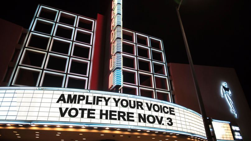 Hollywood Palladium live nation voting polling places venues