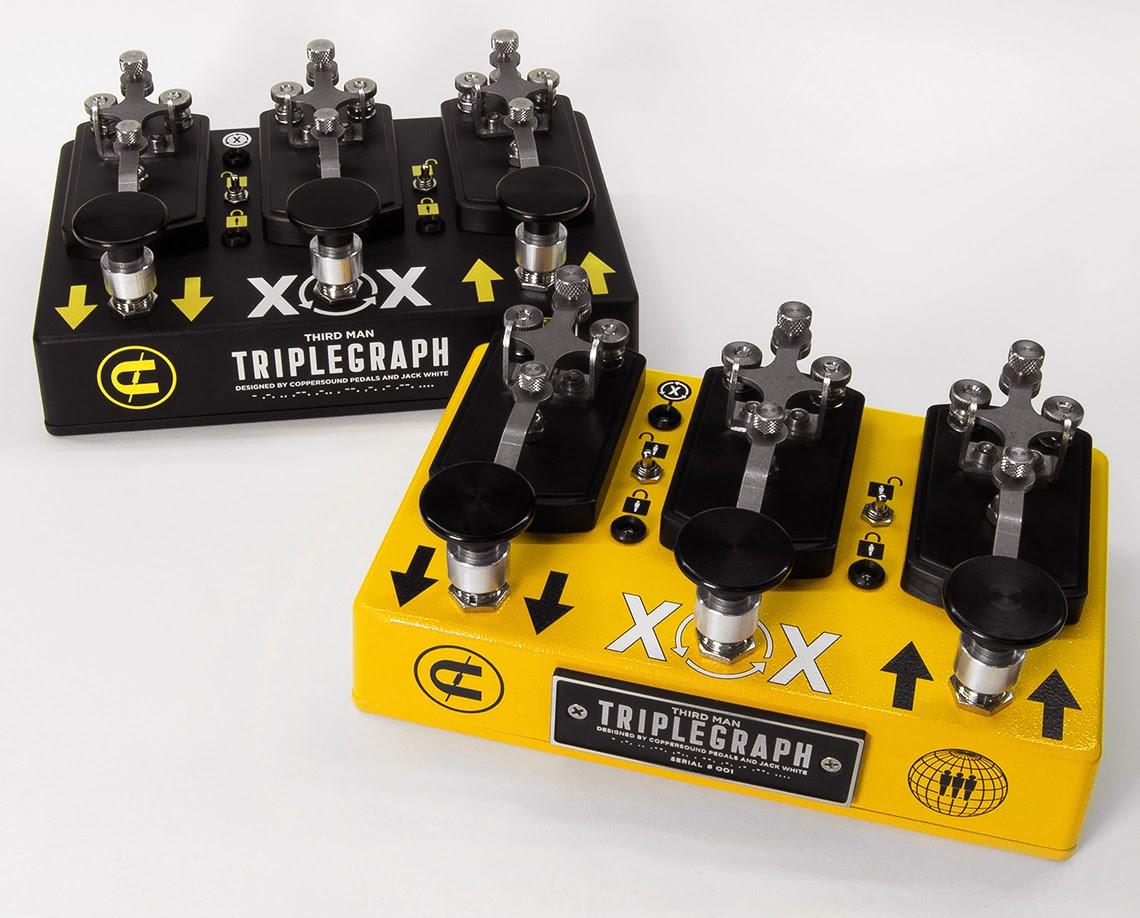 Jack White Announces Third Man coppersound pedal triplegraph