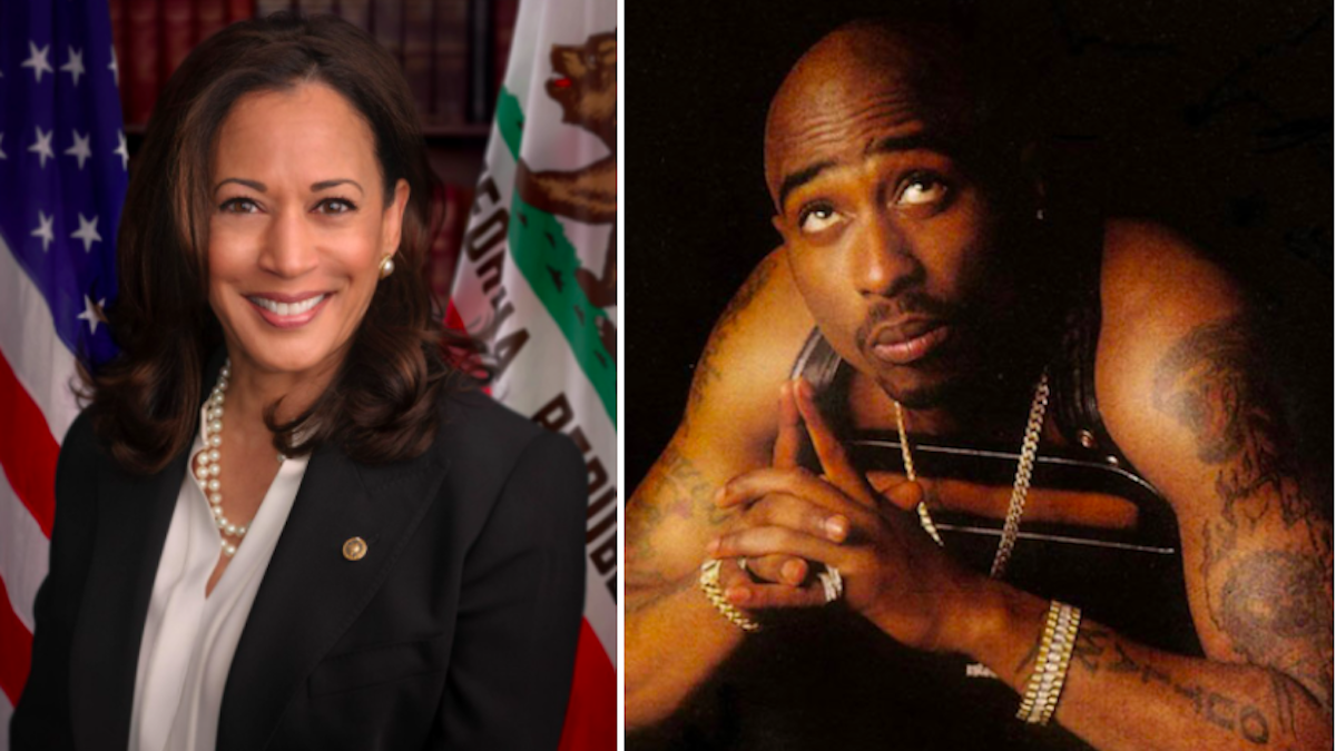 """Kamala Harris Names Tupac the """"Best Rapper Alive"""""""