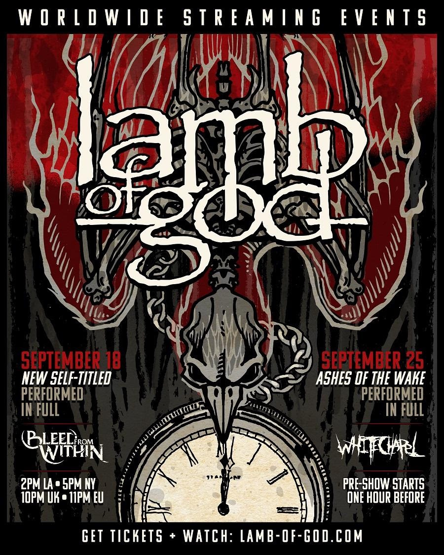 Lamb of God Streaming Poster