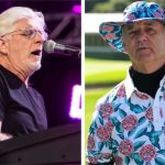 Michael McDonald of The Doobie Brothers (photo by Philip Cosores) and Bill Murray (photo by Steven L. Shepard) Doobie Brothers Bill Murray letter email clothing golf shirt apparel company ads sue