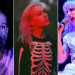 Michael Stipe Phoebe Bridgers and Hayley Williams