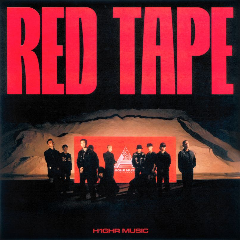 H1ghr music RED TAPE Jay Park stream album art cover artwork