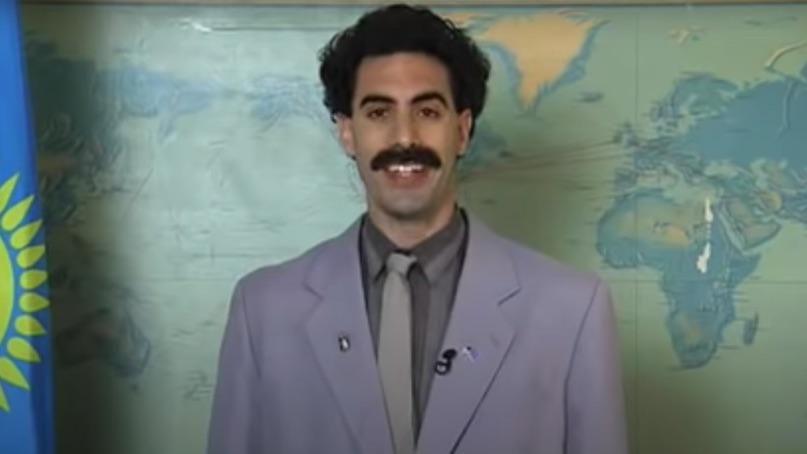 Sacha Baron Cohen Secretly Filmed Borat 2 Consequence Of Sound