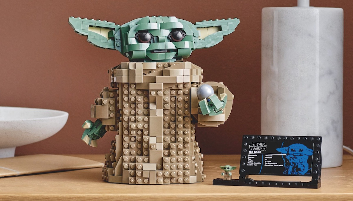 LEGO announces Baby Yoda construction set
