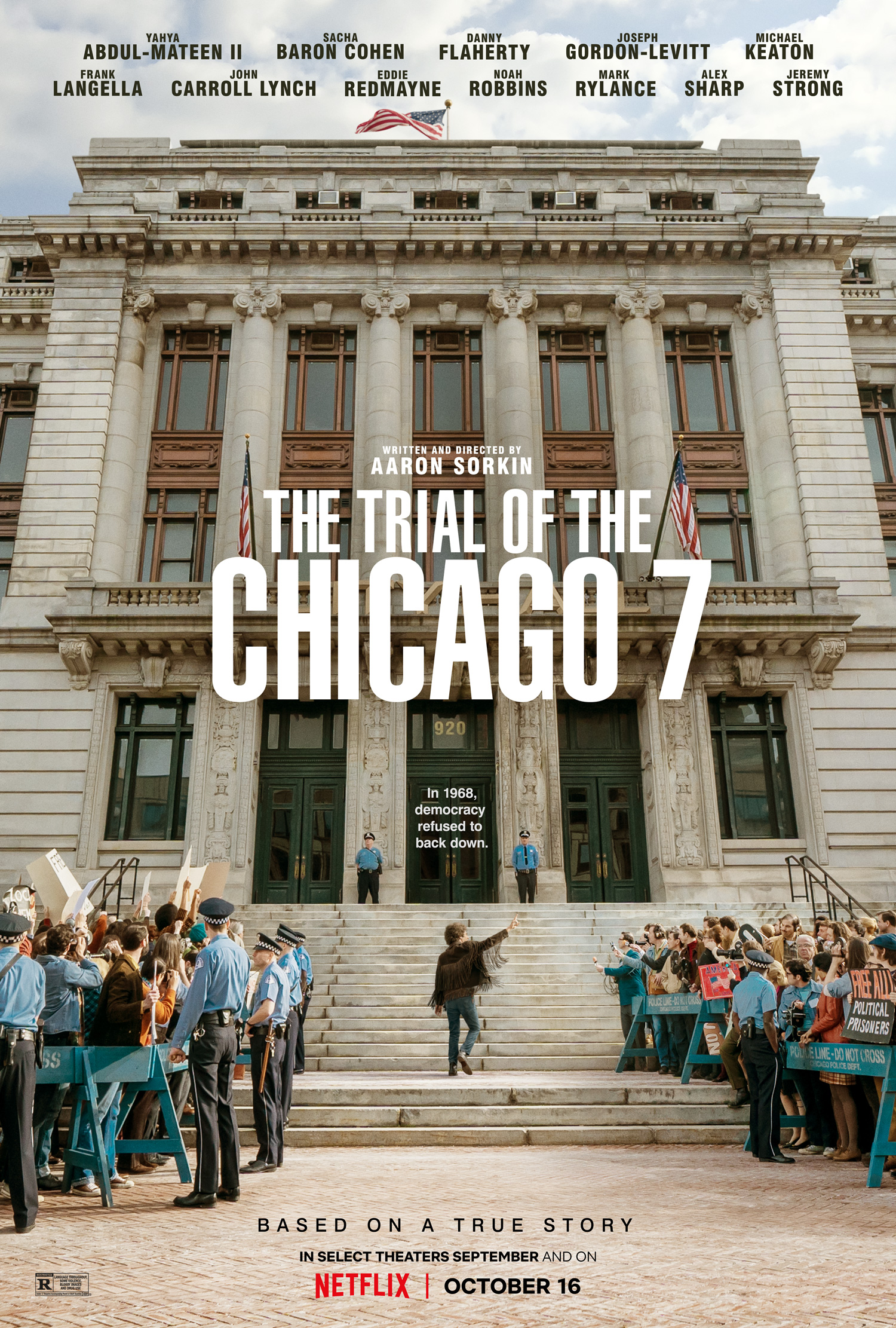 The Trial of the Chicago 7 Teaser Trailer