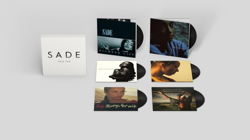This Far Exploded Packshotsmall Sade Announce This Far Vinyl Box Set with All Six Albums