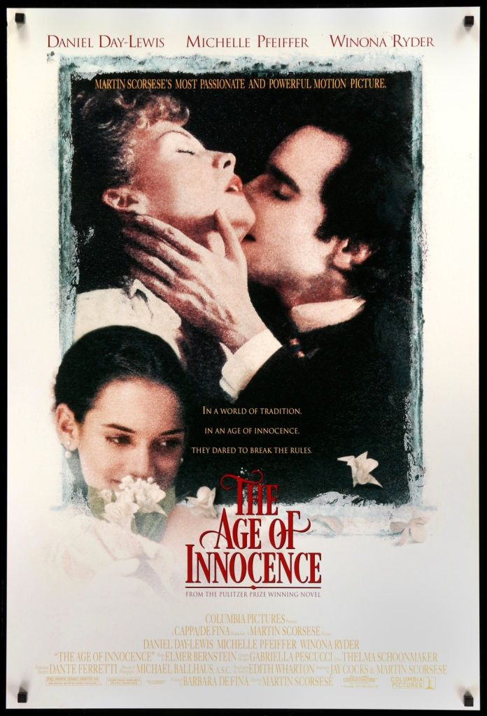 age of innocence 1993 original film poster Ranking: Every Martin Scorsese Film from Worst to Best