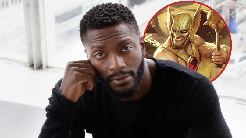 aldis hodge black adam hawkman casting dc extended universe comics copy