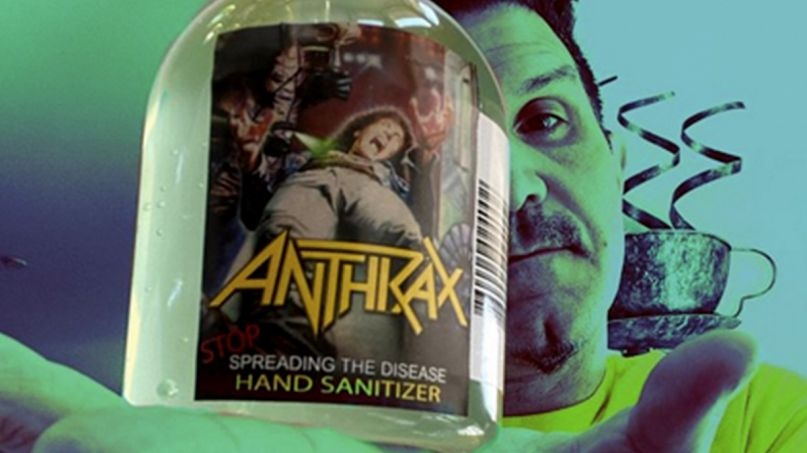 "Anthrax ""Stop Spreading the Disease"" Hand Sanitizer"