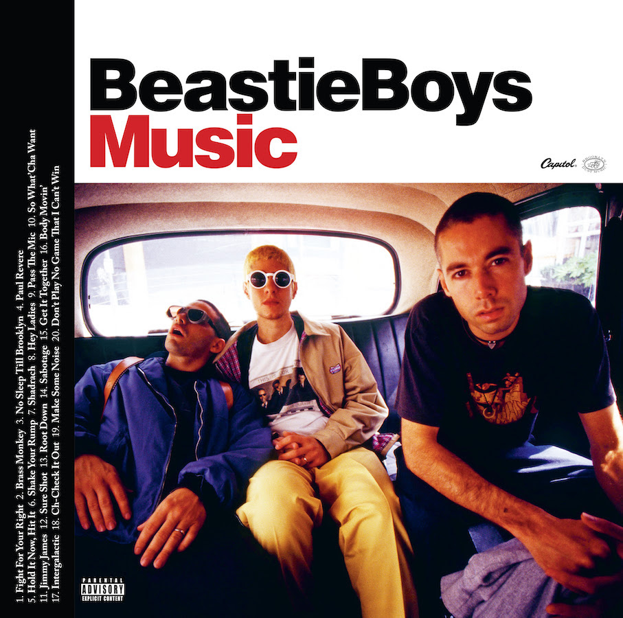 beastie boys music greatest hits album artwork Beastie Boys Announce Greatest Hits Album