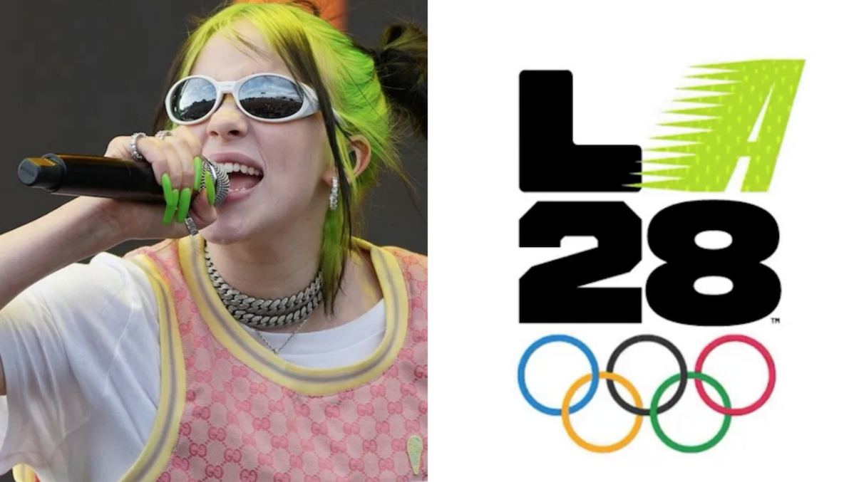 Billie Eilish Designs 2028 Olympics Logo Consequence Of Sound