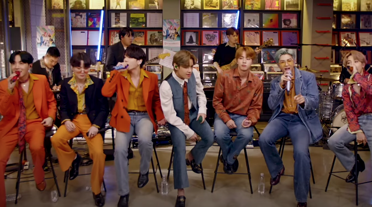 Watch BTS Perform a Tiny Desk (Home) Concert for NPR   Consequence of Sound
