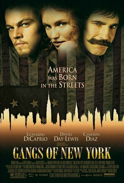 gangs poster Ranking: Every Martin Scorsese Film from Worst to Best