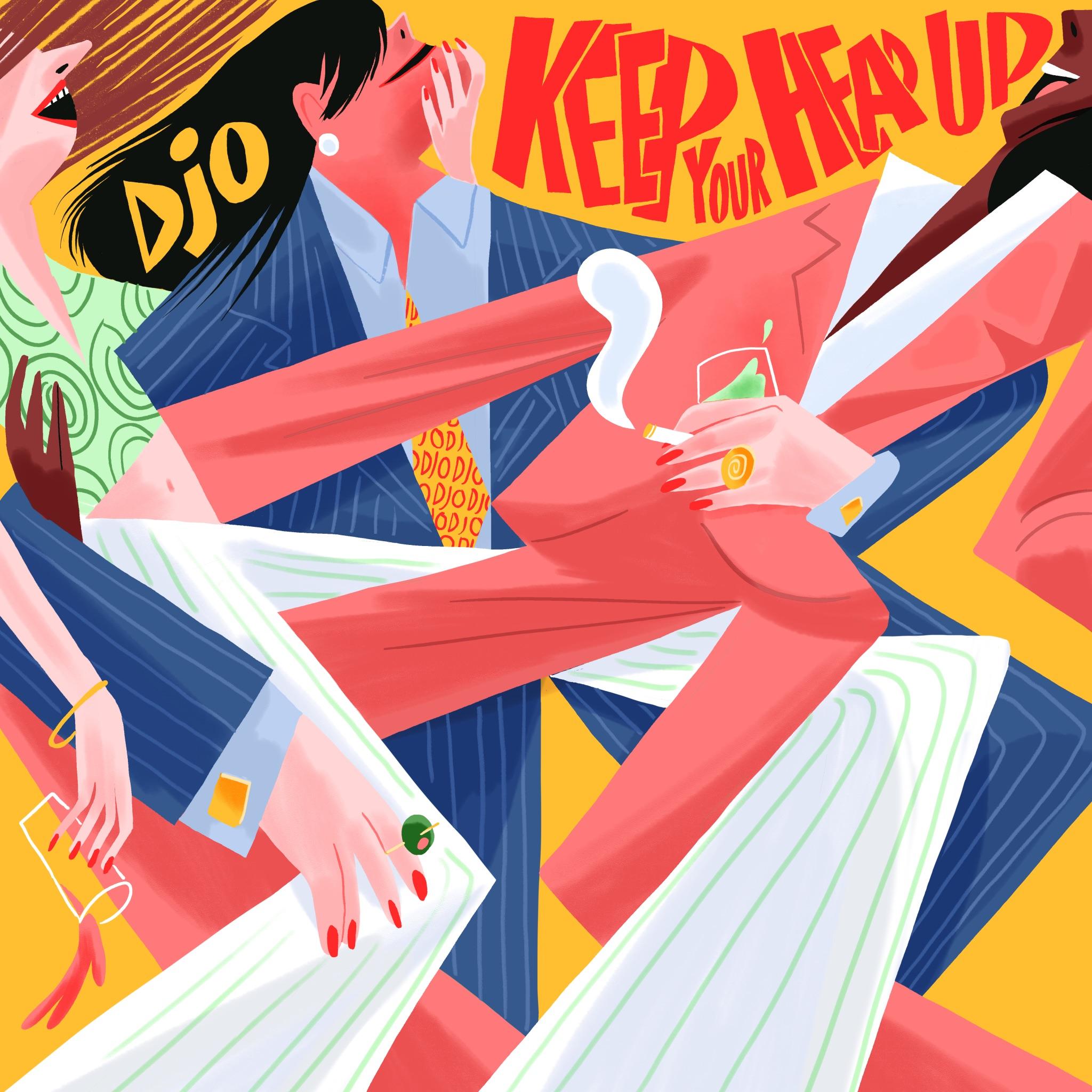 joe keery Djo - _Keep Your Head Up_ Single Artwork