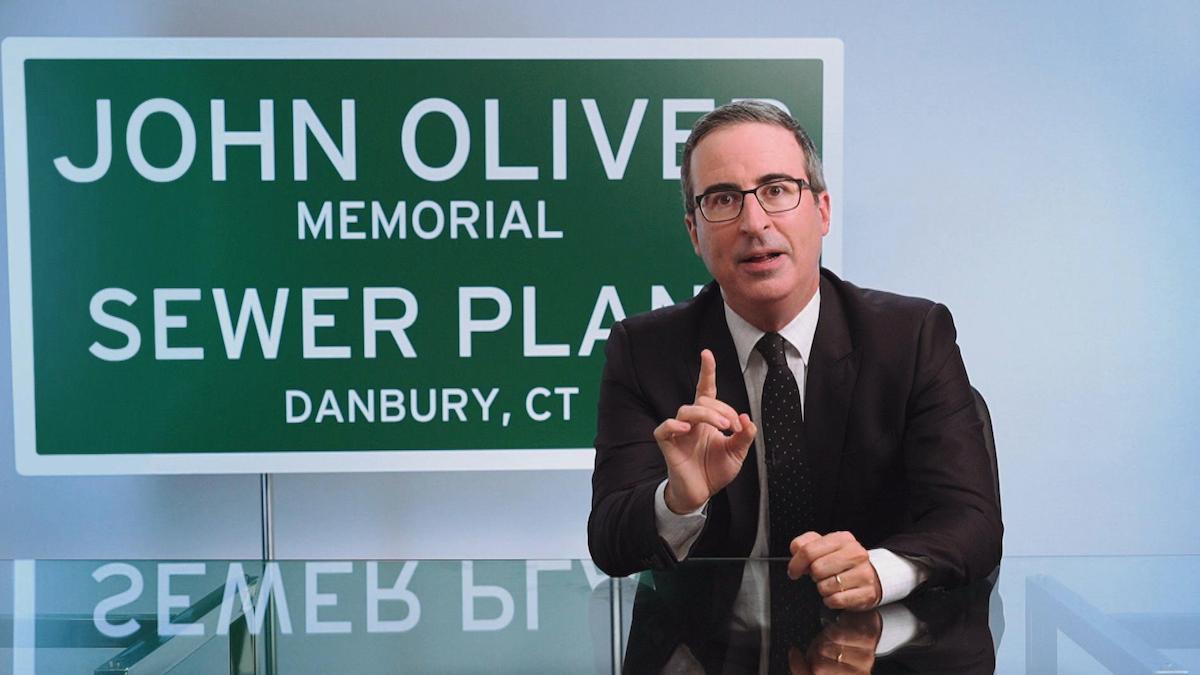 john oliver last week tonight danbury connecticut sewage plant charity jpg?quality=80.