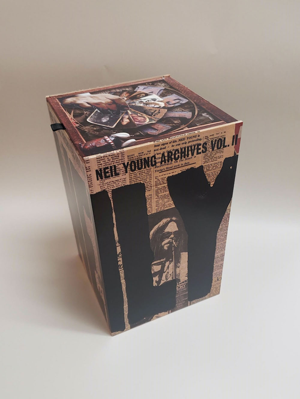 neil young archives vol 2 Neil Young Details Archives Vol. 2 Box Set