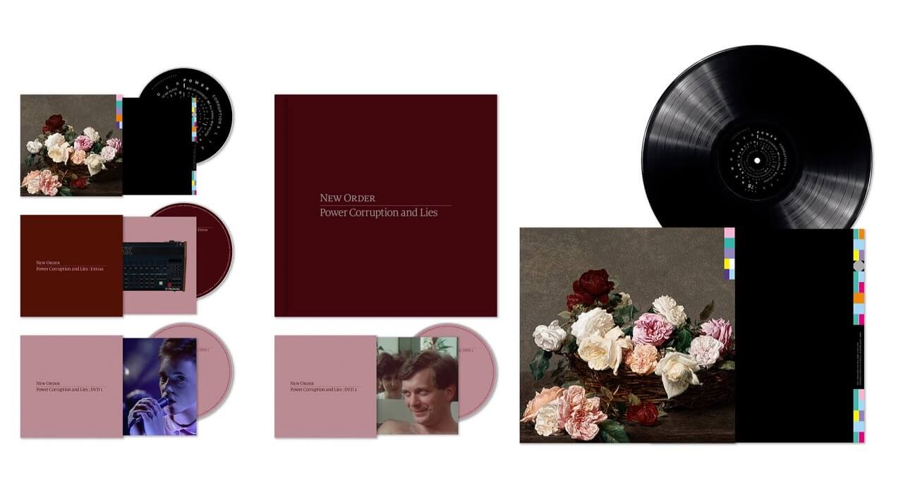 New Order Release Power, Corruption & Lies Deluxe Reissue: Stream