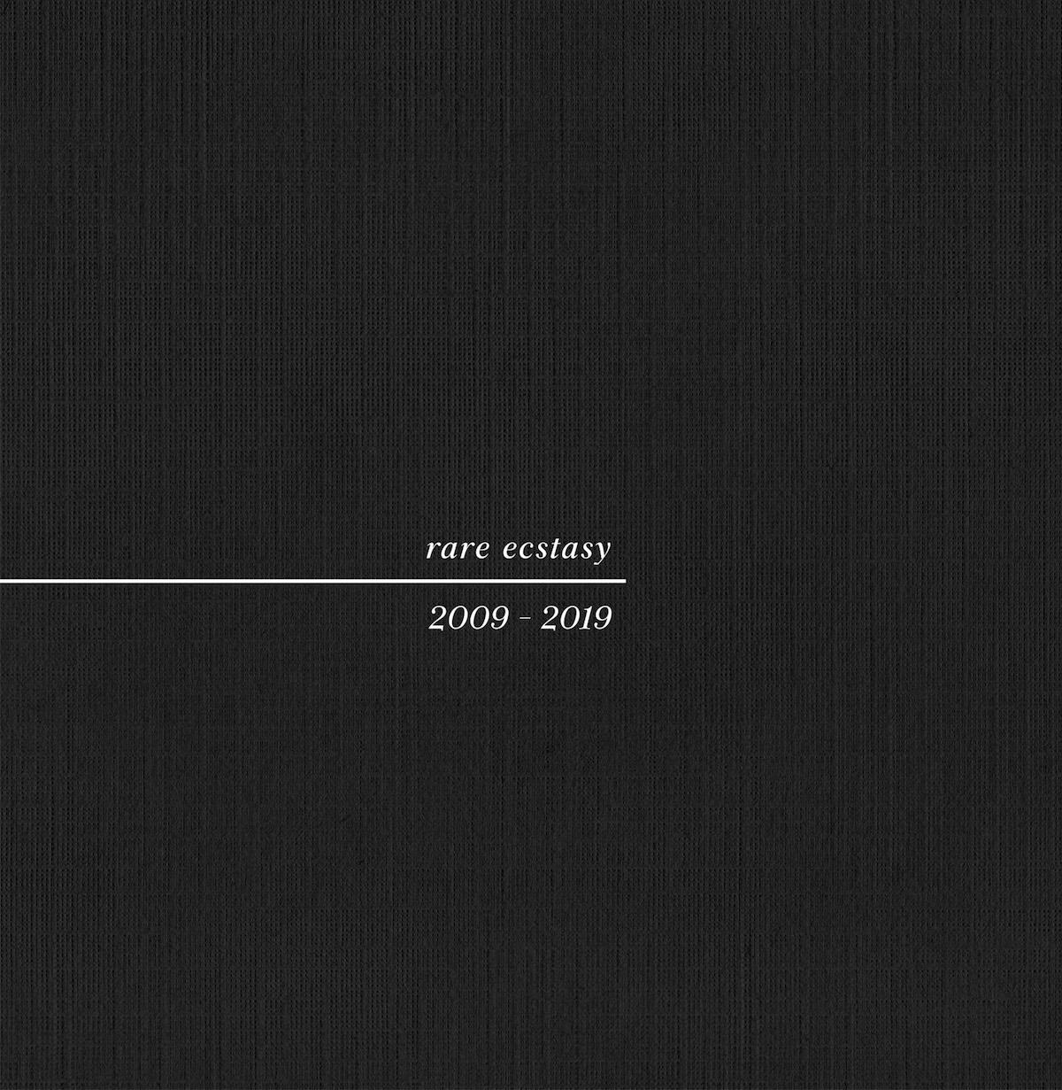 pure x rare ecstasy album cover art Pure X Announce New Album Rare Ecstasy 2009 2019, Share Willie Nelson Cover: Stream