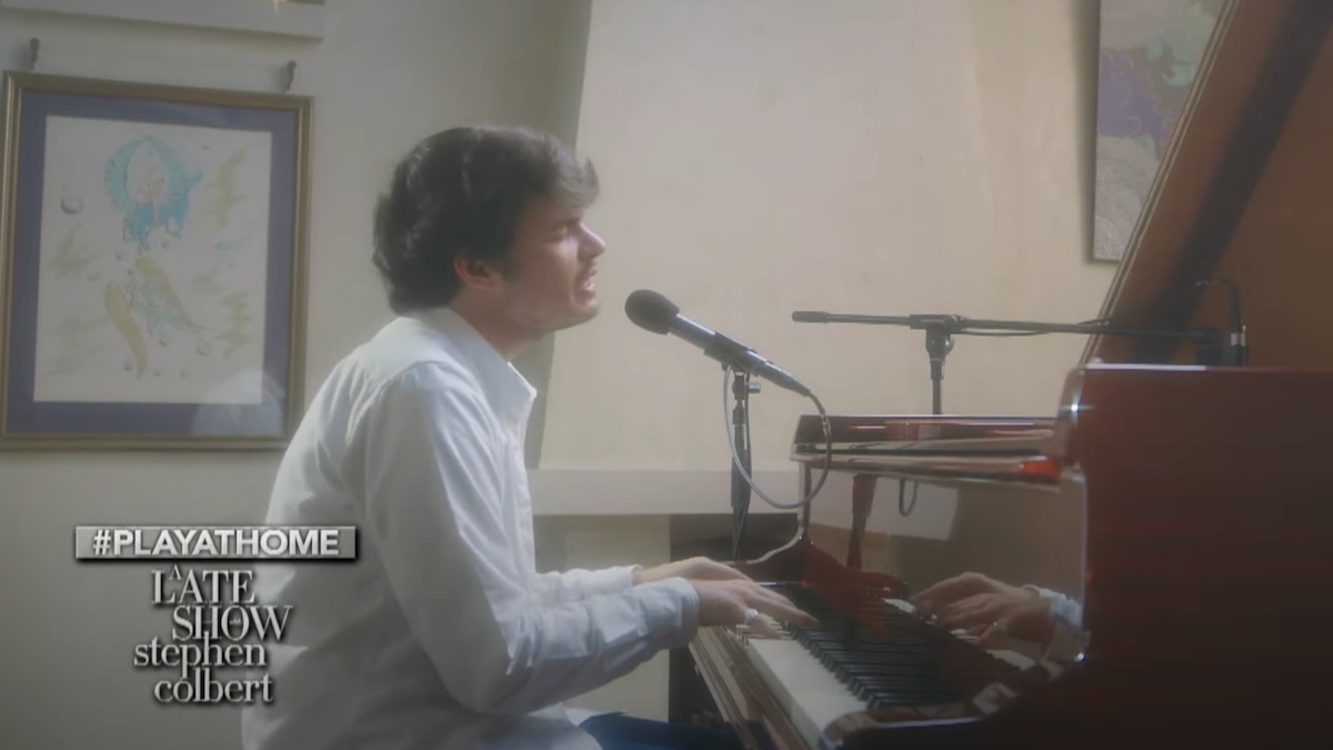 """Rex Orange County performs piano version of """"Always"""" on Colbert: Watch"""
