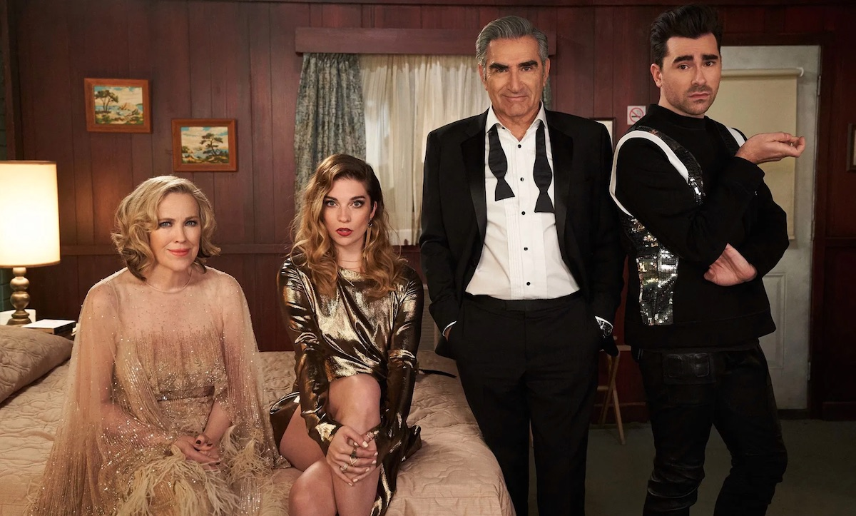 Schitt's Creek makes history by sweeping comedy category at the Emmys