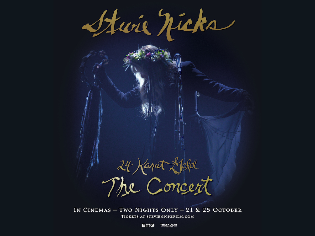 stevie nicks 24 karat gold concert film live album Stevie Nicks Announces 24 Karat Gold Concert Film and Live Album