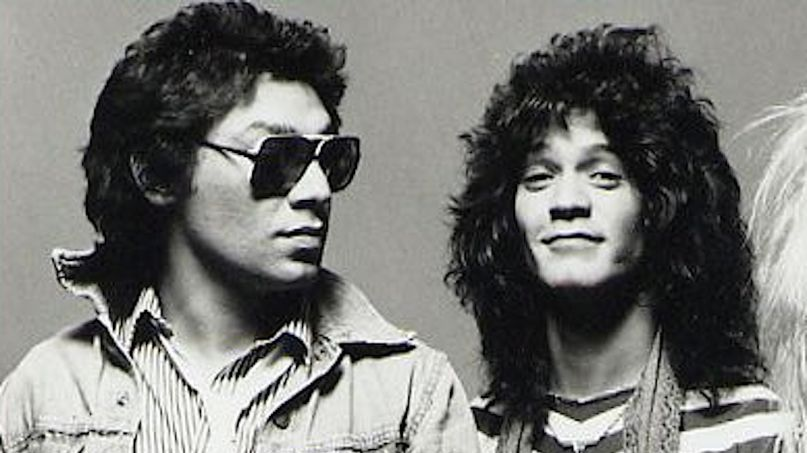 Alex and Eddie Van Halen