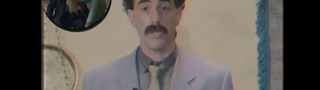 Borat and Rudy