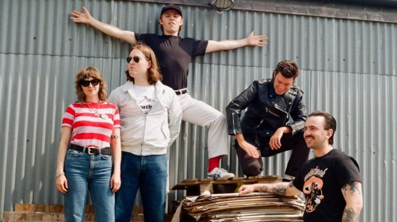 Chubby and the Gang Union Dues new song stream Partisan new music, photo by Ellie Chaplin