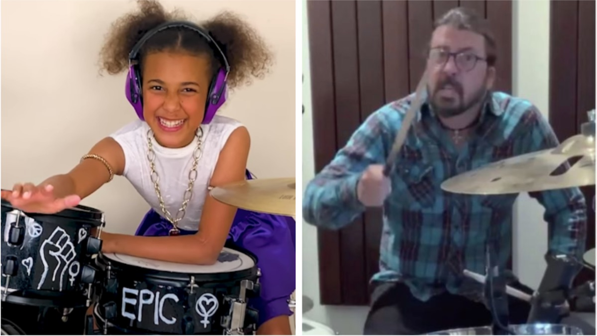 10-year-old music prodigy Nandi Bushell wrote Dave Grohl a theme song