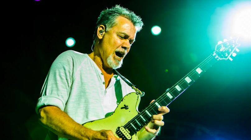 Eddie Van Halen guitarist tributes