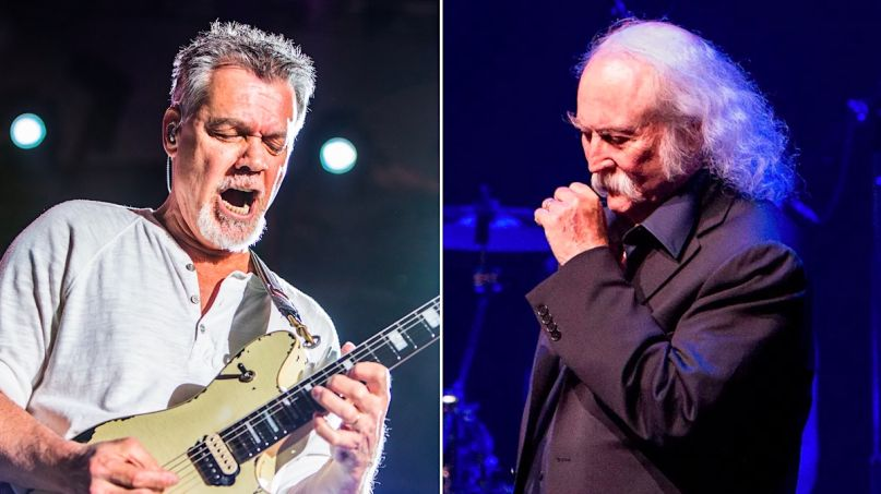 David Crosby explains Eddie Van Halen tweet