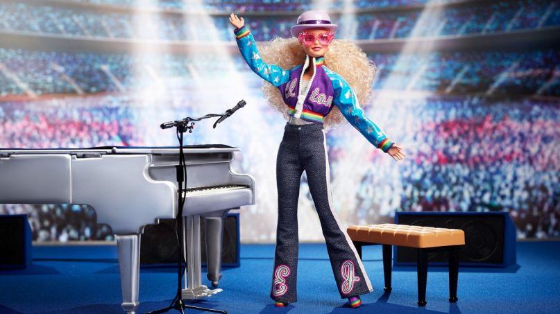 Elton John Gets His Own Barbie Doll