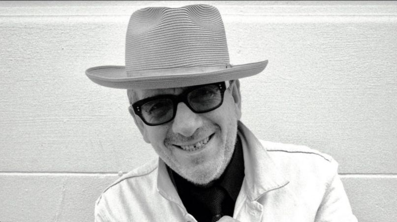 Elvis Costello Hey Clockface stream new album music song, photo courtesy of the artist