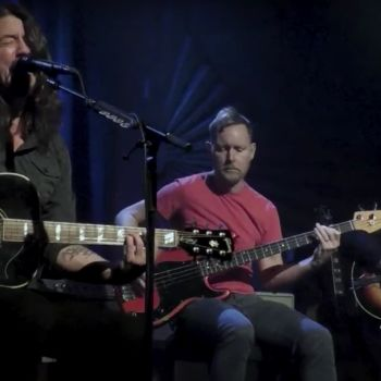 Foo Fighters perform on Kimmel