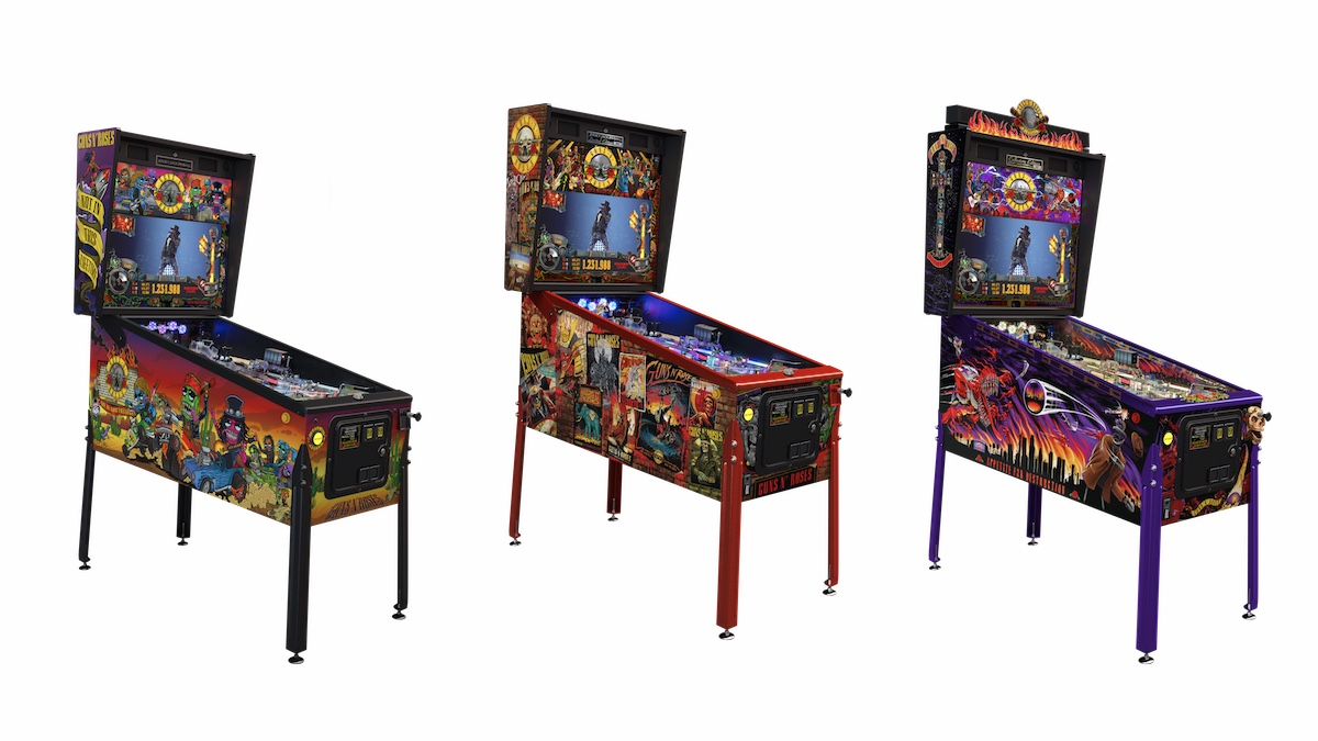 GNR Pinball Machines