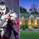 Gene Simmons and Mansion