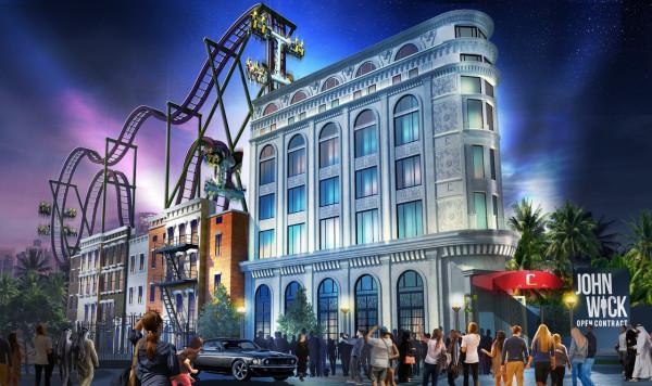 John Wick Open Contract Rollercoaster New John Wick Roller Coaster Will Offer Fans a Killer Experience