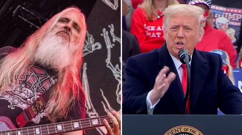 Lamb of God blast President Trump