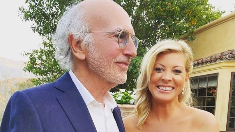 Larry David and Ashley Underwood
