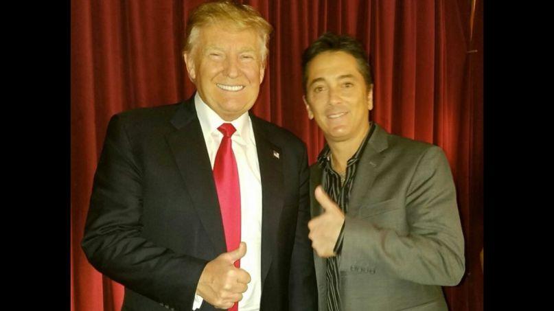 Scott Baio with Donald Trump