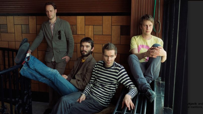 Sigur Rós Odin's Raven Magic new album Dvergmál music orchestral song, photo by Eva Vermandel