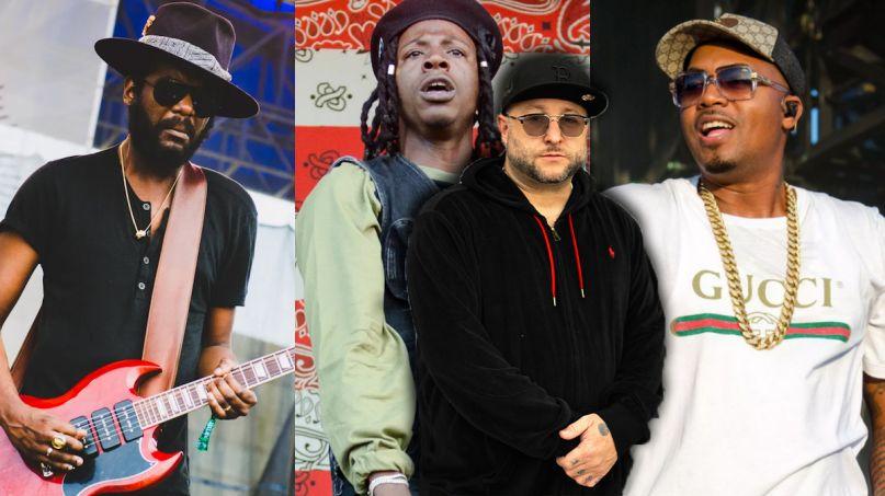 Statik Selektah Nas Joey Bada$$ Gary Clark Jr keep it moving new song stream single