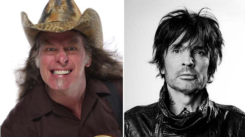 Ted Nugent insults Tommy Lee