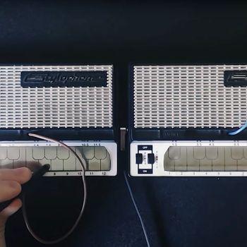 Van Halen Stylophone Performance