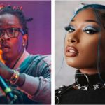 Young Thug (photo by Philip Cosores) and Megan Thee Stallion (photo via Instagram) Megan Thee Stallion Young Thug Don't Stop new song music stream