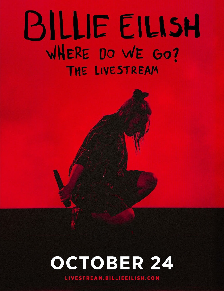 billie eilish where do we go livestream october 24 Billie Eilish Announces First Ever Global Livestream Concert