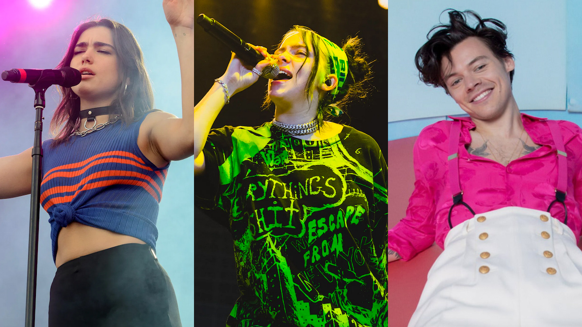 Billie Eilish, Dua Lipa, Harry Styles headline iHeartRadio's virtual Jingle Ball 2020 lineup